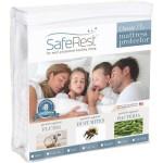 King Size SafeRest Classic Plus Hypoallergenic 100% Waterproof Mattress Protector – Vinyl Free
