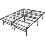 Best Price Mattress New Innovated Box Spring Platform Metal Bed Frame/Foundation, Twin
