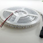 AspenTek 12v 16.4 Ft 600 Leds 3528 Flexible LED Strip Coated in Clear Waterproof Sleeve Ip67, Cool White(6000k)ideal for Bedroom, Bathroom,dinning Room, Stairs,corridor,kitchen,garden,hotels, Restaurant, Ktv, Bar and Other Outdoor Using