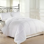 Alyssa HomeTM White Goose Down Alternative Comforter – Twin/Queen/King, White (Full/Queen)