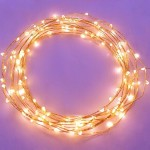 The Original Starry String Lights Warm White Color LED's on a Flexible Copper Wire – 20ft LED String Light with 120 Individually Mounted LED's. Set the Mood You Want Anywhere! – Perfect For Creating Instant Appeal in Any Setting – Parties, Bedrooms, or an Intimate Environment Anywhere in the Home, Waterproof LEDs