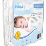 Quilted Mattress Protector (Twin Size) – Waterproof Soft and Absorbent Quilted Premium Cotton Terry – Comfortable and Hypoallergenic Mattress Pad – Fitted Sheet Style Topper – Protects Children and Infants From Allergies and Allergens – Durable, Long Lasting, Machine Washable – Breathable to Keep Your Child Safe and Healthy (Twin)