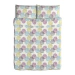 Ikea 802.249.06 Malin Rund duvet cover and pillowcases, full/queen, multicolor