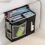 Richards Homewares 6 Pocket Bedside Storage Mattress Book Remote Caddy