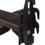 #35 Hook Plate Conversion Adapter Kit for Using a Bolt-On Frame with a Hook-On Headboard