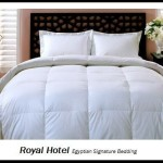 Royal Hotel's King / California-King Size Down-Alternative Comforter – Duvet Insert, 300-Thread-Count 100% Down Alternative Fill