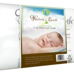 Harlow's Earth Crib Mattress Cover, Clear