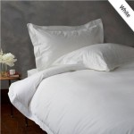 QUEEN 600TC WONDERFUL 100# EGYPTIAN COTTON 1PC DUVET COVER,WHITE SOLID