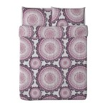 Ikea Lyckoax Duvet Cover and Pillowcases, Full/Queen, Purple
