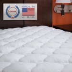 Extra Plush Fitted Mattress Topper – Found in Marriott Hotels, Olympic Queen