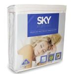 SKY Bedding® Premium Mattress Protector – 100% Waterproof Hypoallergenic Breathable Eliminates Dust Mites – Queen Size