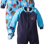 Gerber Baby-Boys Infant 2 Pack Blanket Sleeper, Sports, 24 Months