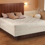 Comfort Bedding Damask Fabric Non-foldable Mattress, Twin Set Mattress and Box Spring Low Profile
