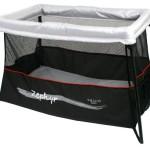 Valco Baby Zephyr Travel Crib, Storm