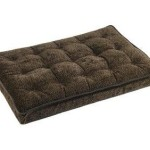 Luxury Crate Mattress Dog Bed Size: Small, Color: Chocolate Bones