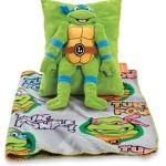 Teenage Mutant Ninja Turtles Cuddly Snuggle Pillow and Fleece Blanket – 2 Piece Travel Set