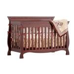 Stork Craft Venetian Convertible Crib, Gray