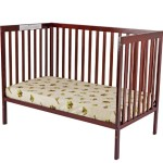 Dream On Me Synergy5 in 1 Convertible Crib, Cherry