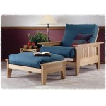 Futon Chair and Ottoman: Downloadable Woodworking Plan