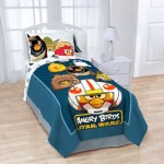 Angry Birds/ Star Wars Horizon Fleece Bed Blanket