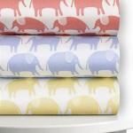 Magnolia Organics Printed Crib Sheet – Standard, Roxy