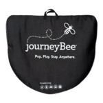 Parentlab JourneyBee Portable Crib Travel Case, Black