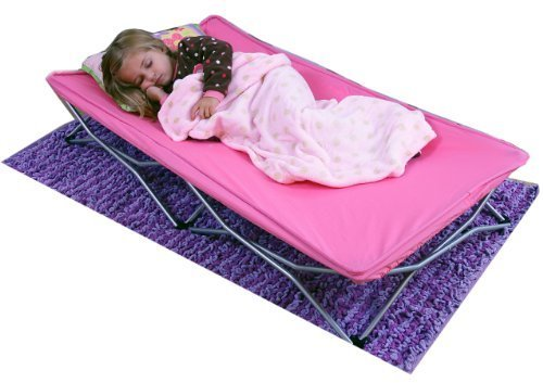 Regalo My Cot Portable Toddler Bed Pink New Born Baby