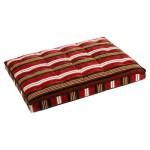 Luxury Crate Mattress Dog Bed Size: Medium, Color: Chocolate Bones