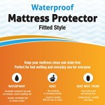 Guardmax – Waterproof Mattress Protector Cover – Fitted Style – Quiet! – Crib Sizes