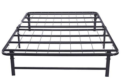 Bedroom Furniture Box Springs Mattresses Metal Frames: Merax Platform Metal Bed Frame And Mattress Foundation