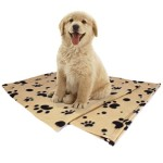 Pet Blanket, Large Blanket (60″x39″) for Dogs & Cats of All Sizes, Includes 2 Bonus Ebooks, Lightweight, Used in Cars, on Pet-beds, Sofas, Lap, Serve As Hair Barrier, Sewn Hem Won't Fray, Machine Washable & Easily Folded, Carried or Stored