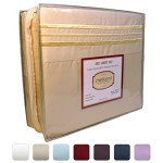 #1 Bed Sheet Set on Amazon – Super Silky Soft – SALE – HIGHEST QUALITY 100% Brushed Microfiber 1800 Bedding Collections – Wrinkle, Fade, Stain Resistant – Hypoallergenic – Deep Pockets – Luxury Fitted & Flat Sheets, Pillowcases – Best For Bedroom, Guest Room, Childrens Room, RV, Vacation Home, Bed in a Bag Addition – LIFETIME MONEY BACK GUARANTEE – Mellanni (Queen, Beige)