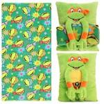 Nickelodeon Teenage Mutant Ninja Turtles Cuddle Time Snuggle Buddy Pillow / Blanket Set