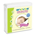 Waterproof Crib Mattress Pad with FREE BONUS – Best for protecting your baby's crib mattress from diaper accidents, preventing dust mites and other allergens, while keeping your baby sleeping comfortably on the luxurious, extra soft bamboo terry surface. Our Deluxe Fitted, Quilted Crib Mattress Cover makes a great baby shower gift – LIFETIME 100% MONEY BACK GUARANTEE