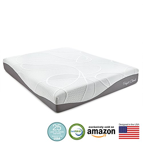 Perfect Cloud Ultraplush Gel Max 10 Inch Memory Foam Mattress Twin Size Amazon Exclusive