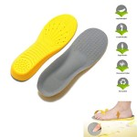 LEAGY Men's & Women's Memory Foam Orthopedic Silica Gel Yellow Shoe Insole, Dr Martens, Shoe Inserts, Arch Support, Shoe Lifts, Superfeet Insoles, Spenco Insoles, Best Insoles, Flat Insoles, Shoes Online, Shoe Insoles, Shoe Arch, Plantar Fasciitis, Massaging Gel Insoles 8-13 (US)