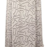DII Bone Dry Warm, Soft, Plush, Microfiber Pet Blanket for Couch, Car, Trunk, Cage, Kennel, Dog House, 36×48″, Taupe