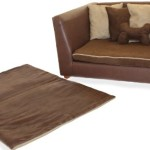 Fantasy Furniture Deluxe Orthopedic Memory Foam Dog Bed Set, Large, Brown