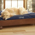 Orvis Studio Dog Bed / Cushion – Large Dogs 70-100 Lbs., Navy, Large
