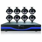 Night Owl Security L-165-8511 16-Channel DVR with 500GB HDD HDMI Output 8 Night Vision Cameras and Free Night Owl Lite App (Black)
