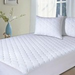 Mattress Pads, Quilted Mattress topper-Hypoallergenic Waterproof Protector (Full, Size)