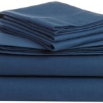 Pinzon Heavyweight Cotton Flannel Sheet Set – Queen, Smokey Blue
