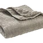 Disana 100% Ogranic Merino Wool Baby Blanket 31.5 x 40 inches Grey