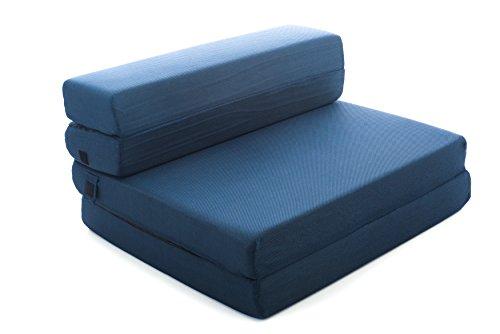 Milliard Tri Fold Foam Folding Mattress And Sofa Bed : Milliard tri fold folding mattress sofa bed twin xl