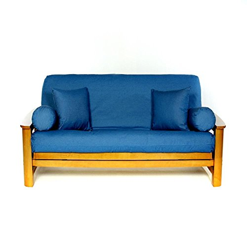 ls covers real denim light full futon cover full size