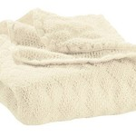 Disana Baby Boys' Wool Blanket Knitted From 100% Controlled Biological Husbandry Virgin 100 X 80 CM Natural