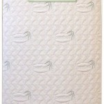 L.A. Baby Naturally Organic IV Triple Zone 2 in 1 Crib Mattress with Natural Bamboo Cover, Beige
