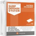 Sleep Defense System – Waterproof / Bed Bug Proof Mattress Encasement – 60-Inch by 80-Inch, Queen