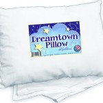 SALE TODAY! Toddler Pillow WITH PILLOWCASE by Dreamtown Kids. CHIROPRACTOR RECOMMENDED for Best Kids Neck Support. Great for Sleep or Travel. Hypoallergenic Cotton Blend, 14×19 in. Ages 2+ Made in the USA.
