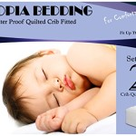 Utopia Bedding Fitted Waterproof Crib Mattress Protector Pad (2-Pack)